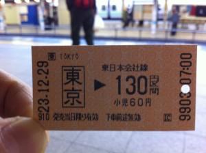 東京から秋葉原まで